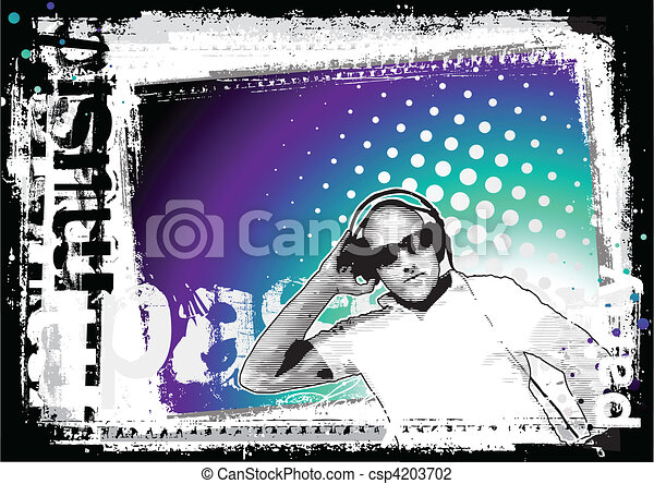 party background 2 - csp4203702