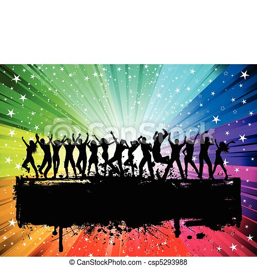 Party background - csp5293988
