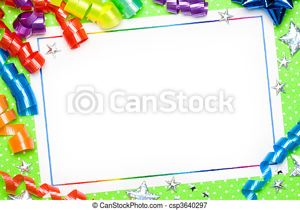Party background - csp3640297