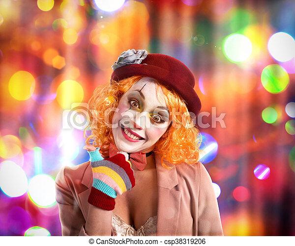 Party clown - csp38319206