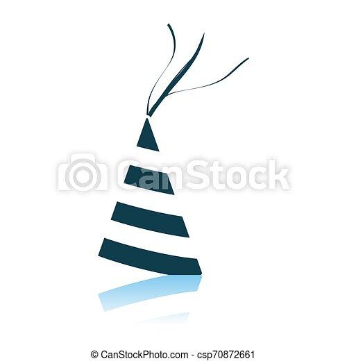 Party Cone Hat Icon - csp70872661
