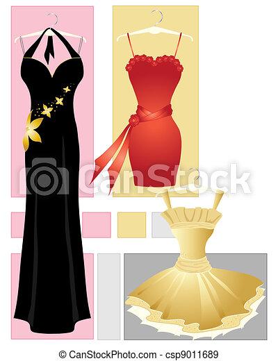 party dresses - csp9011689