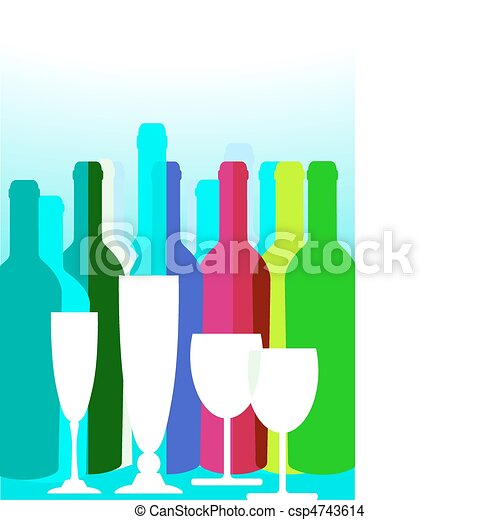 party drinks - csp4743614