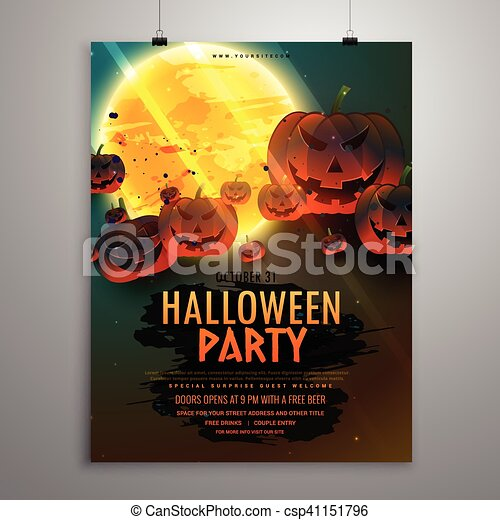 Party, flieger, halloween, schablone EPS Vektoren - Suche Clipart ...