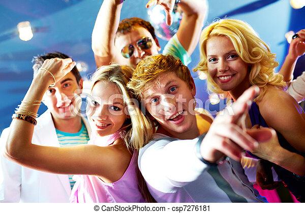 party, friends - csp7276181