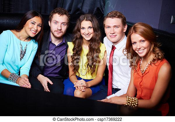 party, friends - csp17369222