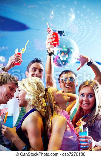party, genießen - csp7276186