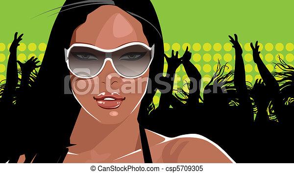 party girl - csp5709305