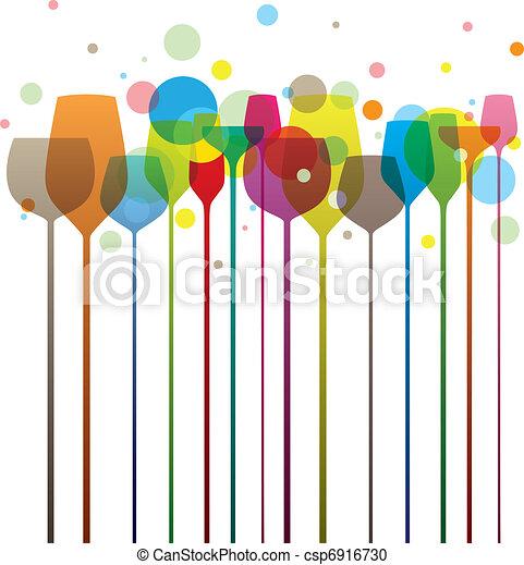 Party glasses - csp6916730
