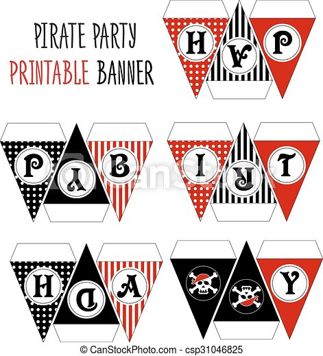 photograph regarding Pirate Party Printable called Celebration hat printable. Pirate concept occasion