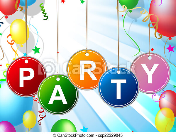 party kids means toddlers celebration and childhood party kids