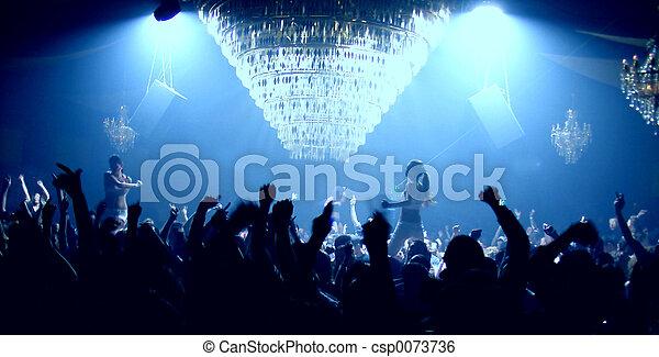 party, leute - csp0073736