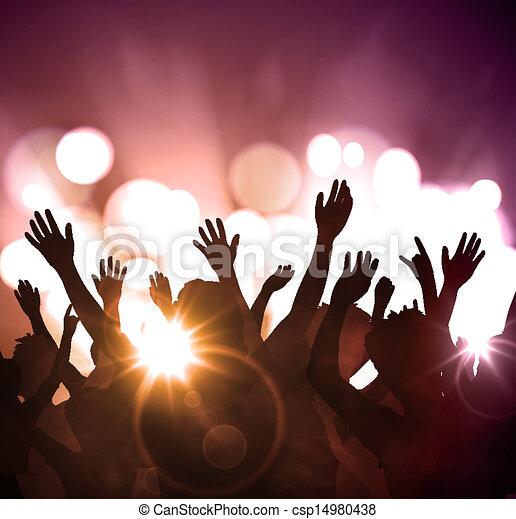 party, nacht - csp14980438