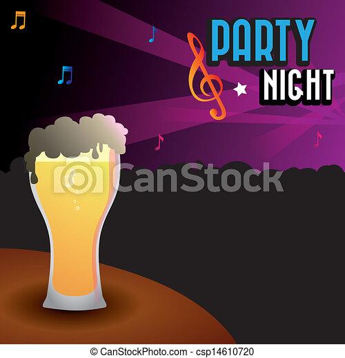 party night - csp14610720