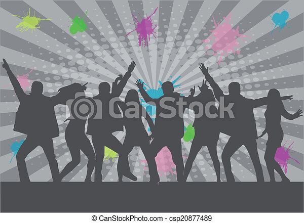 party people - csp20877489