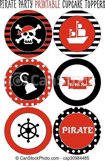 photo relating to Pirate Party Printable identified as Get together mounted printable. Pirate concept occasion