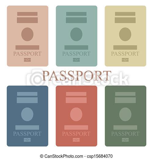 Pasaporte - csp15684070