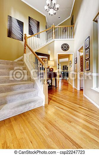 Escaleras De Casas De Lujo. Cheap Now Thatus A Grand Entrance With ...