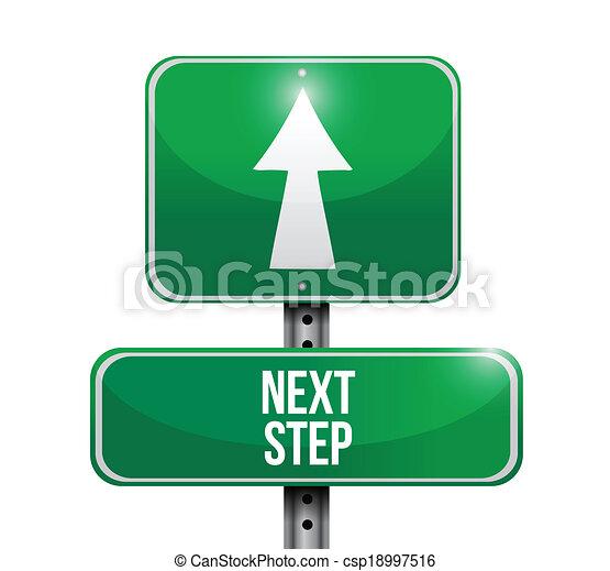 El siguiente paso es el diseño de ilustraciones - csp18997516