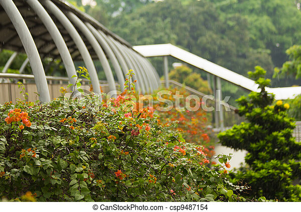 Sobrepaso en Singapore - csp9487154