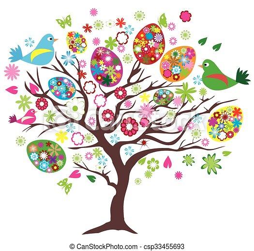 pasqua, albero - csp33455693