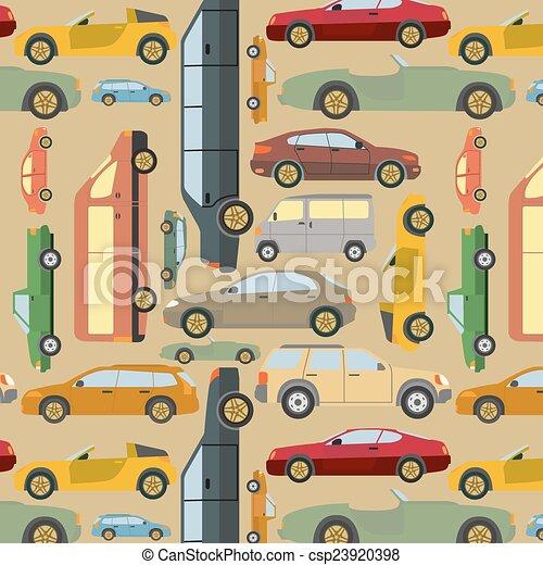 passageiro, fundo, car - csp23920398