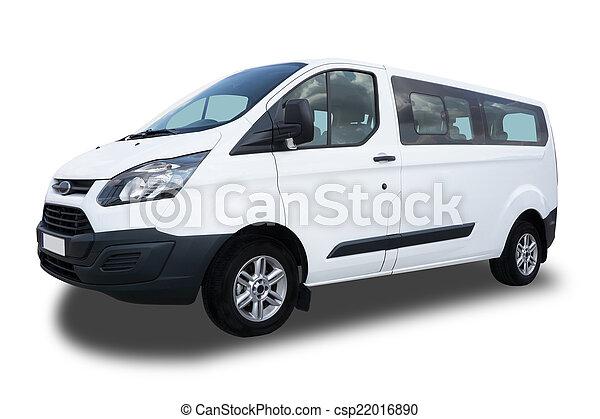 Passagier-Van - csp22016890