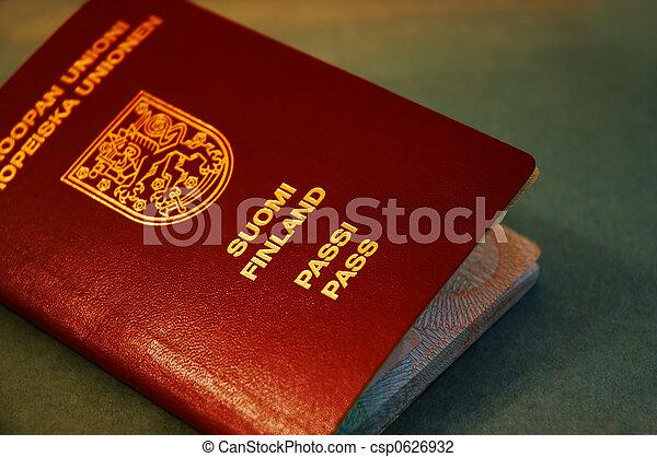 passaporte - csp0626932