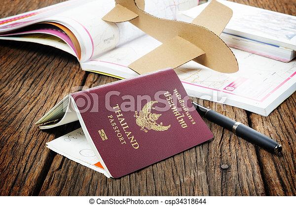 passaporte - csp34318644