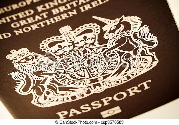 passaporte - csp3570583