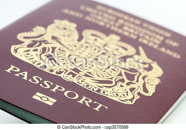passaporte - csp3570586