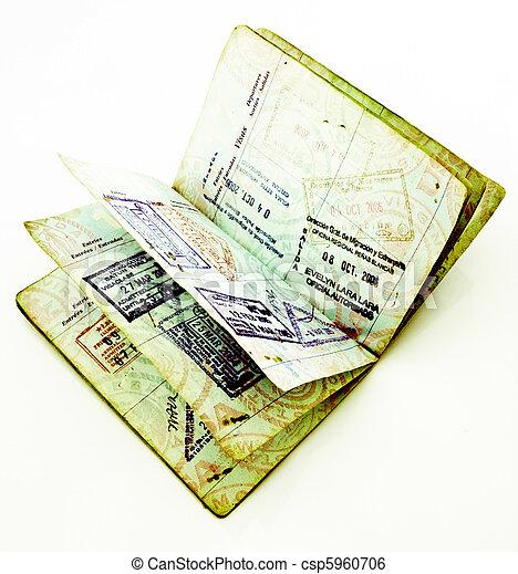 passaporte - csp5960706