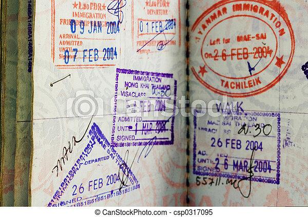 passaporte - csp0317095