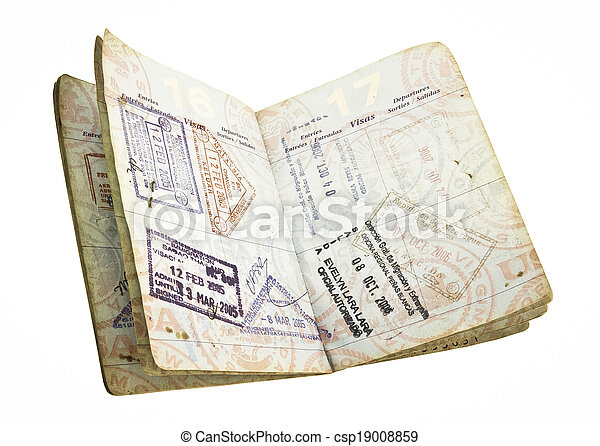 passaporte - csp19008859
