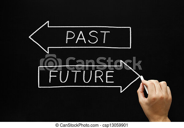 passato, futuro, o - csp13059901