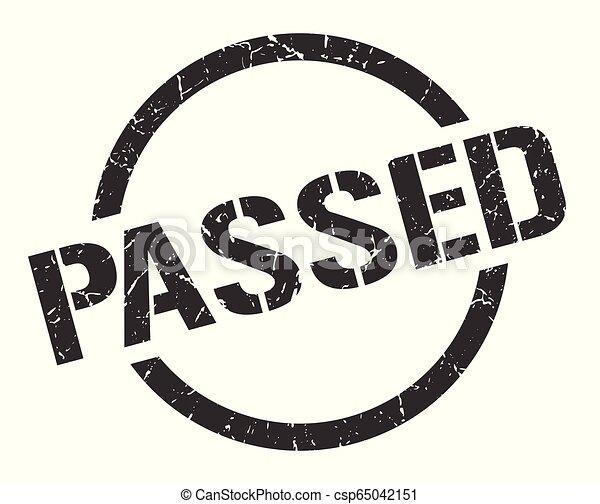 passed stamp - csp65042151
