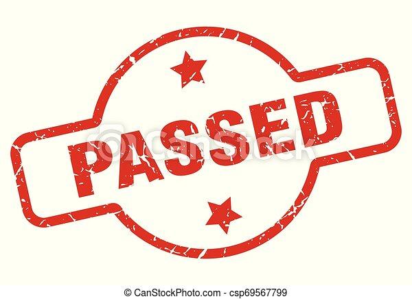 passed stamp - csp69567799