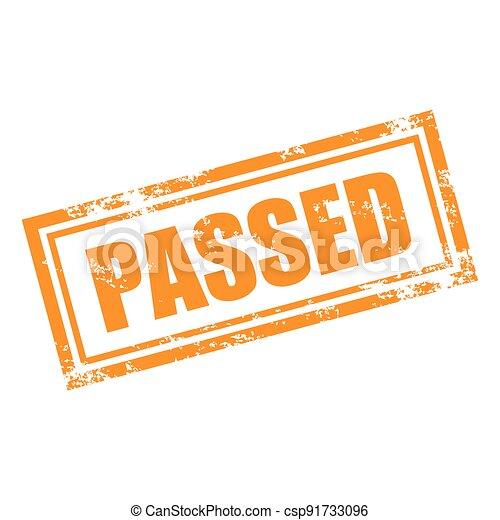 passed stamp - csp91733096