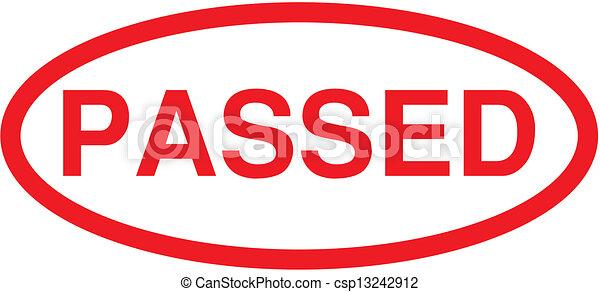 Passed Stamp - csp13242912