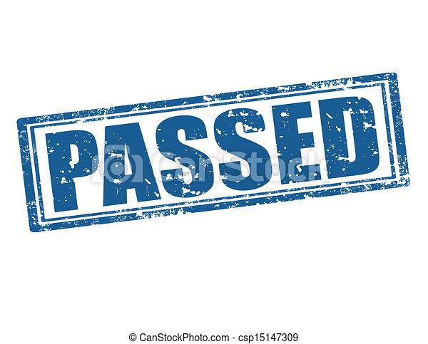 Passed -stamp - csp15147309