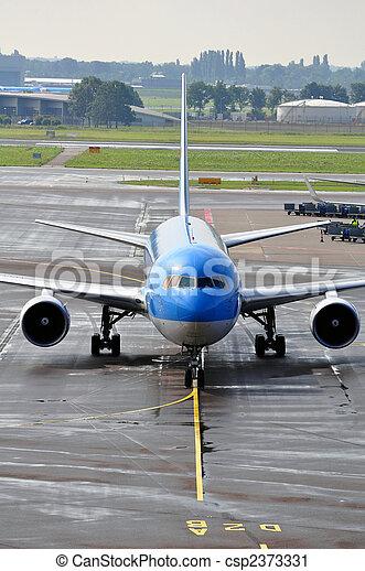 Passenger airplane - csp2373331