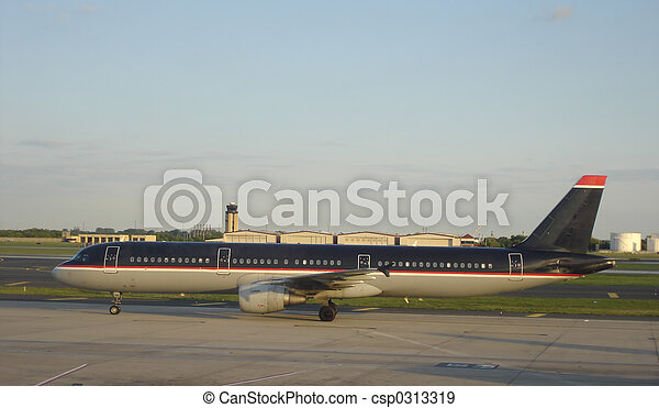 Passenger Airplane - csp0313319
