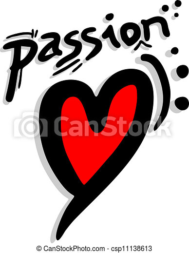 Passion red pads - csp11138613