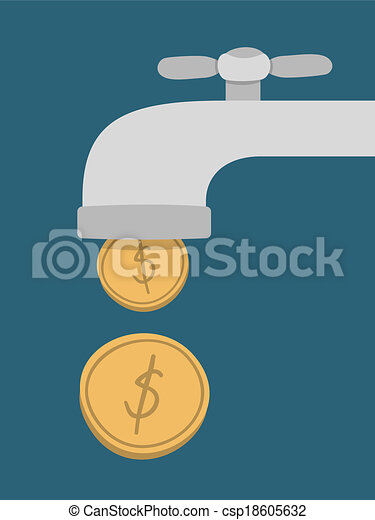 Passive Income Concept - csp18605632