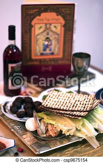 Passover Seder Dinner Celebrations - csp9675154