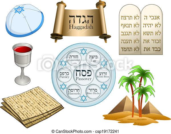 Passover Symbols Pack - csp19172241