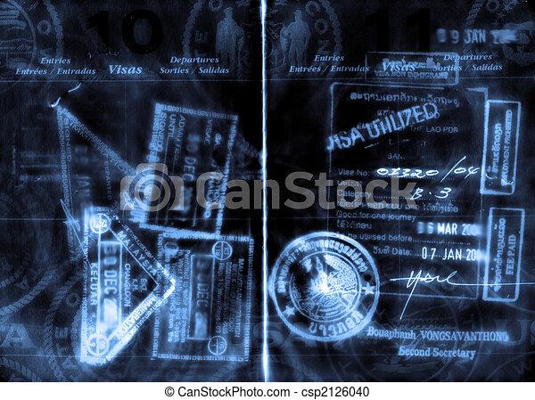 passport - csp2126040