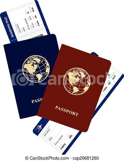 passports - csp29681260