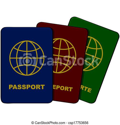 Passports - csp17753656
