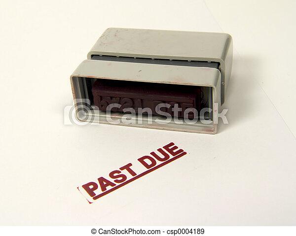 Past Due - csp0004189